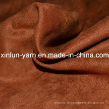 Manufactures Plain Upholstery Sofa Suede Fabric for Sofa