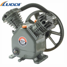 1kw small electric 2 cylinder belt driven air compressor pump