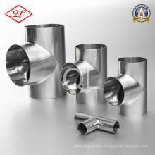 304/316L Sanitary Stainless Steel Welded Equal Tee