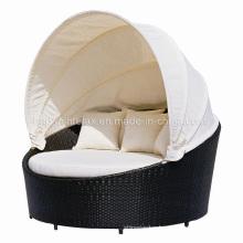 Garden Outdoor Patio Rattan Furniture Canopy Wicker Daybed