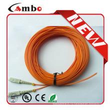 Шнур для пигтейла SC 2 мм ПВХ 50/125 OM2 Дуплексный пигтейл sc apc