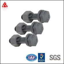 Perno de conexión chapado en zinc de acero Carbone