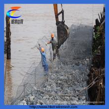 2014 China PVC Coated Iron Hexagonal Gabion Mesh