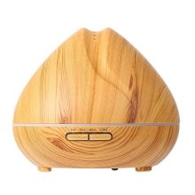 400ml Ultrasonic Wood Grain Aroma Essential Oil Diffuser