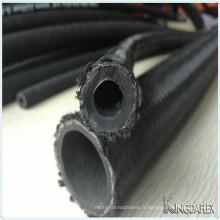 Tuyau de tuyau en caoutchouc hydraulique résistant à l'usure à hautes températures de l'huile SAE100 R5