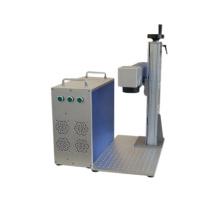 sales Promotion Liaocheng Wer D10/20 10W 20W 30W 50W fiber laser marking machine for sale