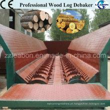 Máquina de descasque de casca de madeira de madeira profissional