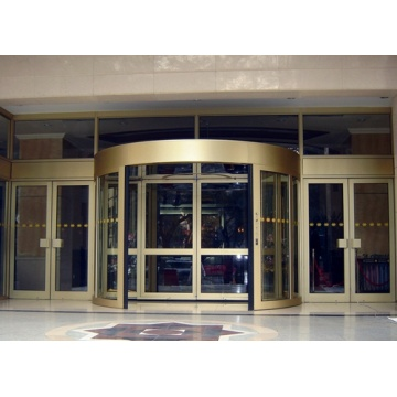 Automatic Two-Wing Revolving Doors for Large Passage