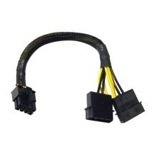 Câble adaptateur Molex 2 broches mâle à 8 broches 2X