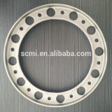 Customized sand casting shot blasting QT450-15 profile flange