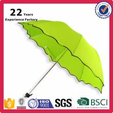 Guarda-chuva de dobramento relativo à promoção pequeno dos presentes baratos fino feito em Hangzhou Zhejiang