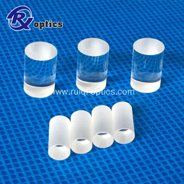 optical convex cylindrical BK7 Fused silica rod lens