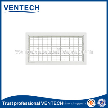 Air Grille Double Deflection Grille Aluminum Grille