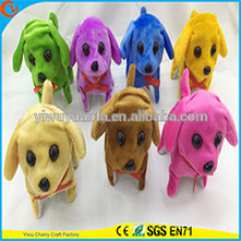 High Quality Colorful Electric Plush Puppies Doll Toy