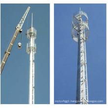 20m Single Pole Tubular Steel Tower