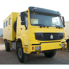 Sinotruk 4X4 Mobile Workshop Truck