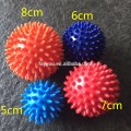 Bola de spiky de massagem de PVC