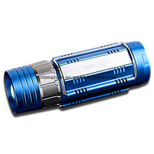 Rotating Focusing White and Blue Fishing Light
