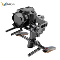 Portable shoulder 3-axis gimbal stabilizer dslr