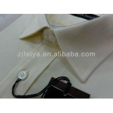 Camisa de los hombres 2013 Nuevo estilo de diseño Vestido de manga larga de alta calidad Beige Color-FYST20-J