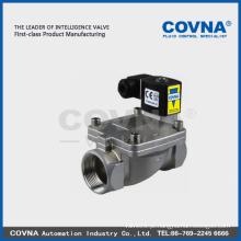 Válvula solenóide de óleo / gás / água de alta qualidade