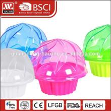 Kunststoff Großhandel einzelne billige klar Cupcake box