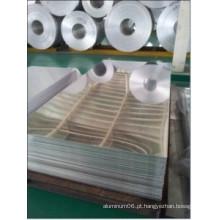 Fábrica de preço de fábrica terminou folha de alumínio 1100 com PVC revestido