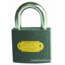 Good Quality Grey Iron Padlock with Iron Keys