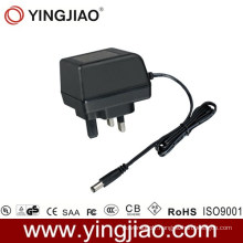 7W UK Plug in Power Adapter with CE
