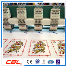 Muti head commercial embroidery machine