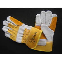 Cow Split Leather Double Palm Working Glove (3060.02)