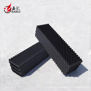 Torre de resfriamento de onda oblíqua preenche o preenchimento de pvc de venda quente de China