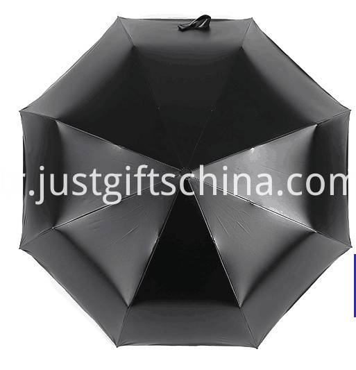 Promotional Full Printed Triple Folding Umbrella1