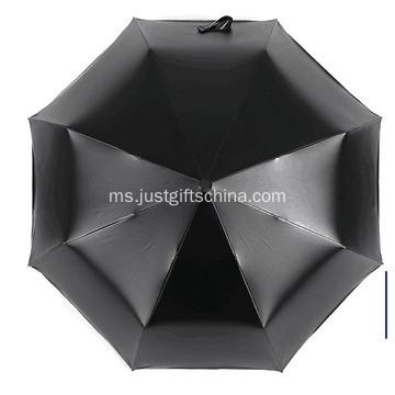 Promosi Penuh Bercetak Triple Folding Umbrella
