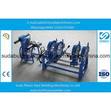* Accesorios de tubería manuales del HDPE 50m m / 160m m Máquina de soldadura de 4 anillos