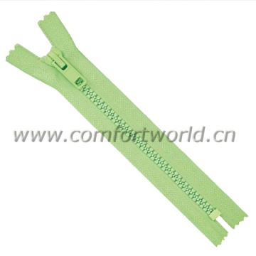 #5 Plastic Resin C/E A/L Zipper
