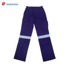 Chaleco impermeable para clima húmedo / Pu Oxford Pantalón impermeable para lluvia