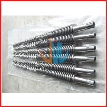bimetallischer konischer Doppelschneckenzylinder für WPC
