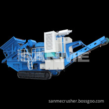 MP-C Series Cone Crusher Plant Mobile Stone Crushing Machine