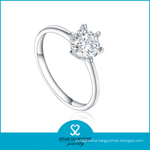 Newest Vitality Silver Ring Jewellery with CZ (R-0403)