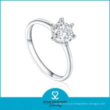 Mais nova jóia de prata do anel da vitalidade com CZ (R-0403)