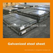 Aluzinc standard JIS tôle d'enroulement en acier galvanisé