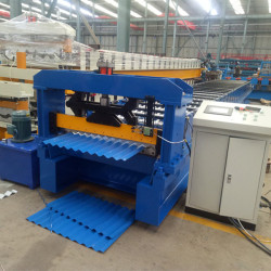 Color Panel Corrugated Roof Sheet Making Machine