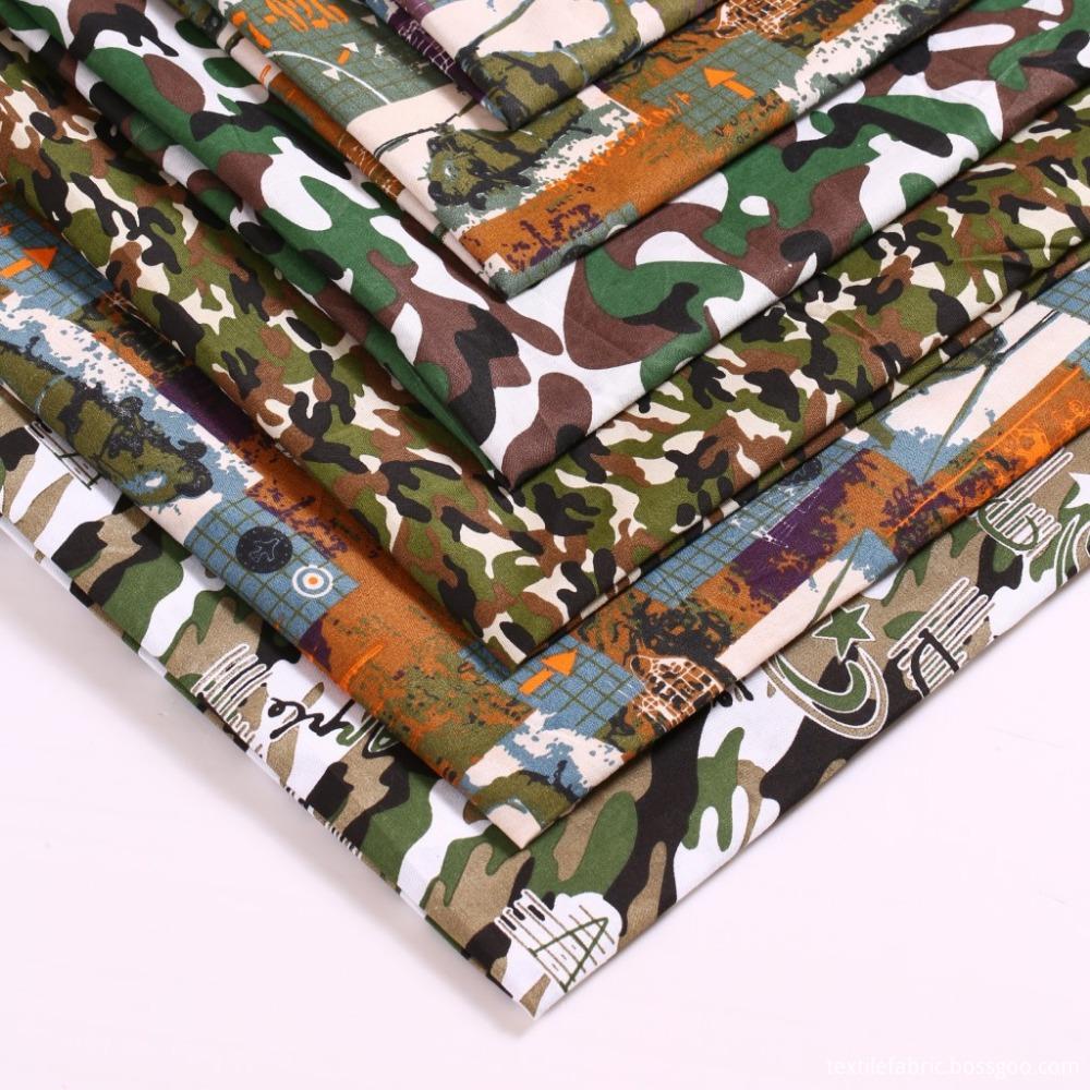 cotton camouflage fabric