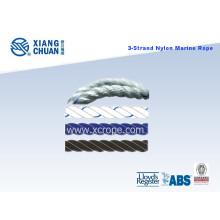 Dnv Approved 3 Strand Marine Rope / Nylon Rope