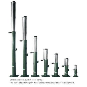 Hydraulischer Aufzug Ölpuffer, 100-860 Kolbenstoß OB35