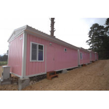 Galvanized Steel Prefab Container House , Portable Modular Homes
