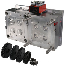 OEM precision industry parts molding making screw mould injection plastic gear molds