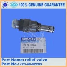 Original komatsu WA470-6 relief valve 723-40-93900