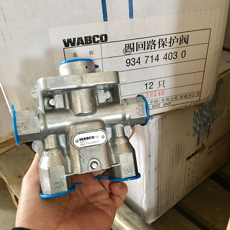 9347144030 wabco 4 circuit protection valve